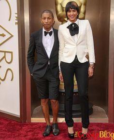 Pharrell Williams Wears Shorts on Oscars 2014 Red Carpet Oscars 2014, Oscar Fashion, Olga Kurylenko, Academy Award Winners, Pharrell Williams, Celebs, Celebrities, In Hollywood, Tuxedo