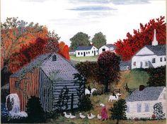 Autumn artist Anna Mary Robertson , grandma moses