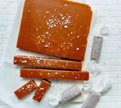 These cinnamon toffees make a thoughtful gift or after-dinner treat! Toffee, Recipe Collection, Thoughtful Gifts, Cinnamon, Yummy Food, Sweets, Dinner, Christmas Recipes, Yum Yum