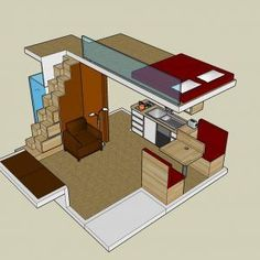 Small House With Loft Bedroom Plans