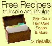 Make your own rose body milk with the free recipe at the site. Links directly to ingredients needed.