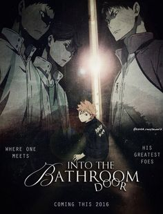 How great would it be if they made a movie like this right after they finish Haikyuu! XD >>> poor Hinata, will he ever get to go pee? Manga Haikyuu, Haikyuu Karasuno, Haikyuu Funny, Haikyuu Fanart, Haikyuu Ships, Kagehina, Oikawa, Watch Haikyuu, Nishinoya