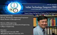 One of the Speaker @ Indian Technology Congress 2013