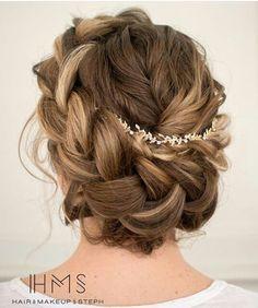 Fairy tale hair styles for a garden wedding