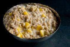 Coconut Farro Porridge with Mango Recipe - CHOW