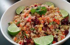 Quinoa for Long Life - Cranberry and Cilantro Quinoa Salad