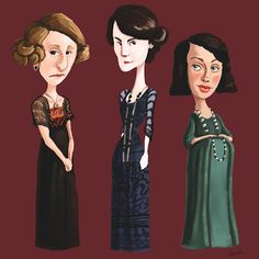 Has Anyone Seen My Glasses?: Downton Caricatures, Round IV