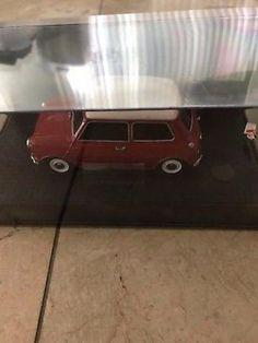 Kyosho Auto Scale 1/27 Mini Z Lit Morris Cooper Body Red