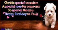 angol nyelvü születésnapi képeslap