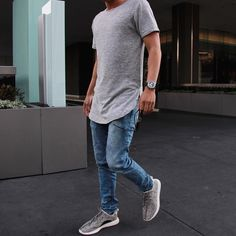 ORO on Instagram: The Triblend Fleece Tee & The Sold Out Azul Denim www.orolosangeles.com #mensfashion