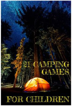 camping games for kids teens and adults, family camping games, summer group acti… – natural playground ideas