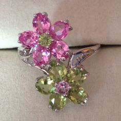 """""""every kiss begins with Kay"""" Flower ring by Kay Jewelers"""
