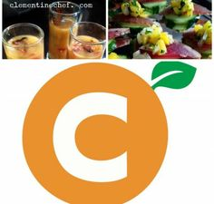 """Clementine Chef Service served up :::  ---Summer Corn and Shrimp Chowder Shooters ---Spicy Jerk Smoked and Cured Ahi Tuna """"Bacon"""" with pineapple relish on a cucumber """"cracker"""" ---Juicy Mango Sorbet #glutenfree #dairyfree #recipes #preparedmeals #smallbites #delicious #refreshing #partyideas"""