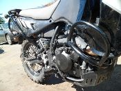 Crash Bars....a must on a KLR