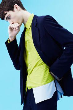 John Galliano Collection Homme Summer 2014 (John Galliano)   Billy Kidd - Photographer Corentin Renault - Model Summer 2014, Spring Summer, Billy Kidd, Male Models Poses, Good Poses, John Galliano, Summer Collection, Color Inspiration, Menswear