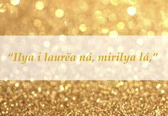 """""""All that is gold does not glitter."""" 
