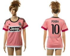 http://www.xjersey.com/201516-juventus-10-pogba-away-women-jersey.html 2015-16 JUVENTUS 10 POGBA AWAY WOMEN JERSEY Only $35.00 , Free Shipping!