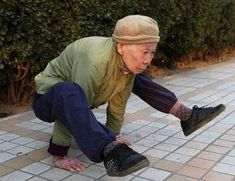 Your never to old to start a yoga practice!