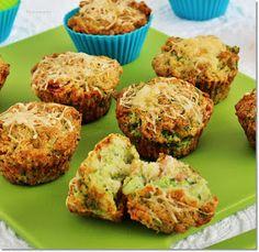 Gizi-receptjei: Brokkolis-sajtos muffin Vegas, Muffins, Winter Food, Salmon Burgers, Tart, Sandwiches, Food Porn, Food And Drink, Snacks