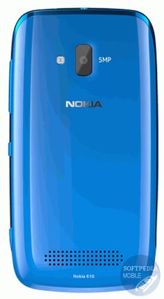 Nokia Lumia 610 mobile phone with touchscreen, 3G, 1300 mAh battery, SAR 0.830 W/Kg, 3.70 inch screen, 480x800 display