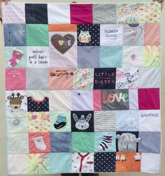 Sew It Yourself :: Baby Clothes Quilt - A HAPPY STITCH