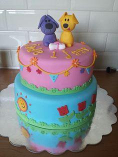 Woezel en Pip taart.