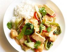 Red Curry Tofu with Fall Vegetables