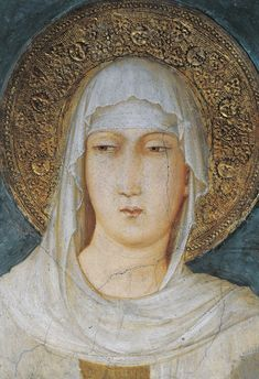 13 Powerful Women Mystics Who Helped Shape Christianity St. Catherine of Siena, Joan of Arc, Hildegard von Bingen, St. Teresa d'Avila, St. Catherine of Genoa, St. Clare of Assisi (pictured), Therese of Lisieux, Julian of Norwich, St, Bridget of Sweden, St. Beatrice of Silva, St. Angela of Foligno, Mechthild of Magdeburg, Hadewijch