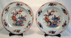 Online veilinghuis Catawiki: Twee Imari borden - China - 18e eeuw