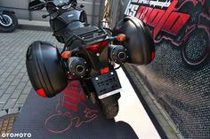Kawasaki KLV Kawasaki KLV 1000 Kufry boczne handbary Gwarancja RATY - 10