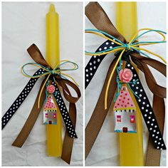 Easter Projects, Easter Crafts, Diy And Crafts, Arts And Crafts, Palm Sunday, Candels, Decoupage, Gift Wrapping, Creative