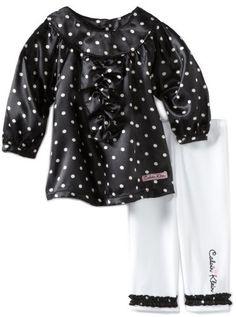 Calvin Klein Baby-Girls Newborn Tunic Top With « Clothing Impulse