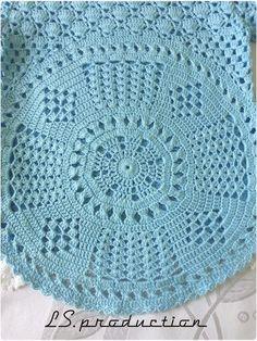 Blusa interesante para una niña (Crochet) - Revista Inspiración de la costura