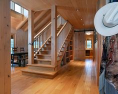 Traditional Staircase Freestanding Staircase Design, Pictures, Remodel, Decor and Ideas - page 2
