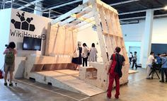 LIBRARY AS MAKERSPACE: Wikihouse: An architectural public library for designs and models