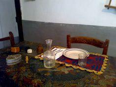 Un esempio della frugalità delle generazioni passate. Tipici oggetti in uso fino agli anni 50/60