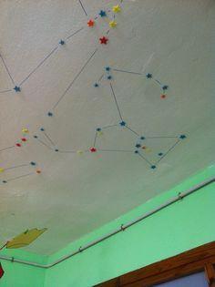 Constelaciones que se ven durante el día, estrellas de su color real.