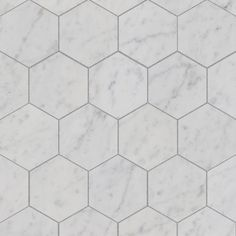 Marbre Carrara Hexagonal