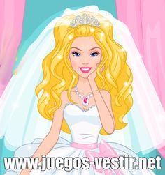 #Barbie está a punto de casarse pero el gato de su amiga le estropeo el #vestidodenovia y su rostro con arañazos #juegosdevestir   #juegosdebarbie    http://www.juegos-vestir.net/jugar/barbie-y-su-boda