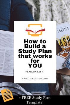 Learn how to build a study plan that's PERFECT FOR YOU. Click through to read more >>