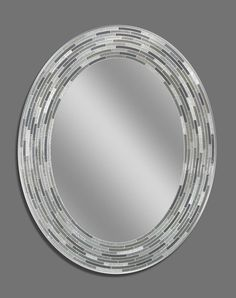 Reeded Charcoal Oval (1207)