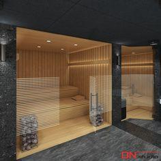 BRISTOL ART & SPA Sanatorium in Busko Zdroj, Poland. Design and Renderings of a sauna.