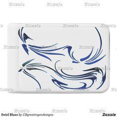 Swirl Blues Power Bank