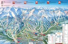 'Breckenridge Ski Resort Trail Map Colorado Snowboard Mountain' Canvas Print by Breckenridge Ski Resort, Breckenridge Colorado, Colorado Snowboarding, Colorado Trip, Summer Vacation Spots, Vacation Ideas, Fun Winter Activities, Area Map, Cards