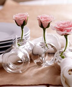 Set of 4 Vase Napkin Rings -  $45