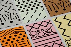 architectural hatch patterns which are used to distinguish different building materials as calling cards