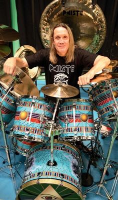 "Happy 60th Birthday, Michael Henry ""Nicko"" McBrain!  Posted 6/5/2012"