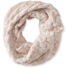 Aeropostale Free State Cable Knit Funnel Scarf ($17) ❤ liked on Polyvore featuring accessories, scarves, cream, aéropostale, cable knit scarves, aeropostale scarves and cable knit shawl