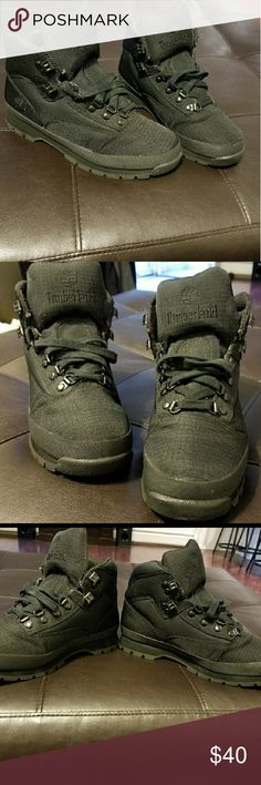 Men'sTimberland Euro Hiker Boots Worn a few times. Good condition!! Timberland Shoes Boots
