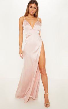 877bf39b8d2 8 Best Champagne Maxi Bridesmaid Dresses images